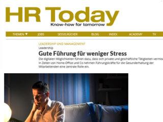HR Today: Führungsverhalten und Stressmanagement in Zeiten von Home Office